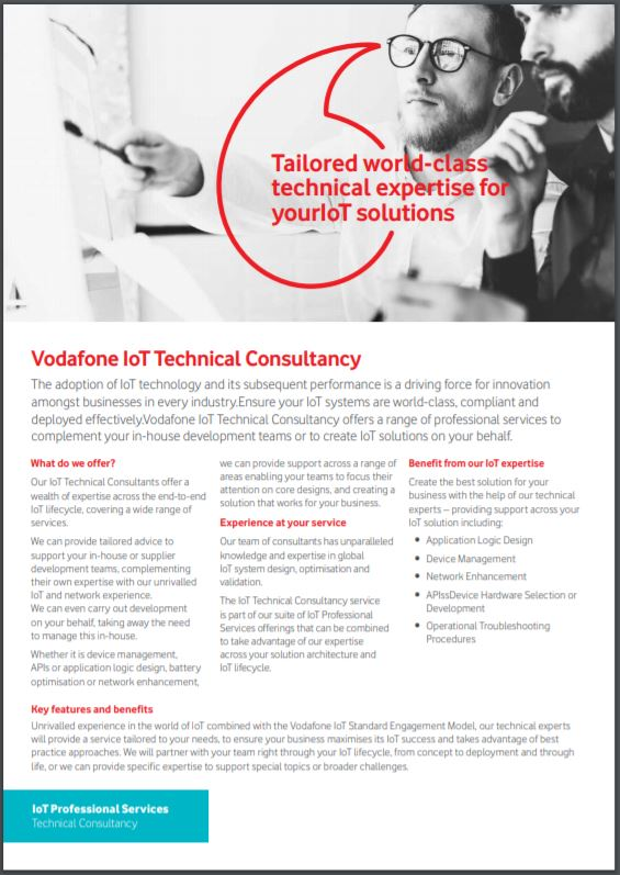 IoT technical consultancy