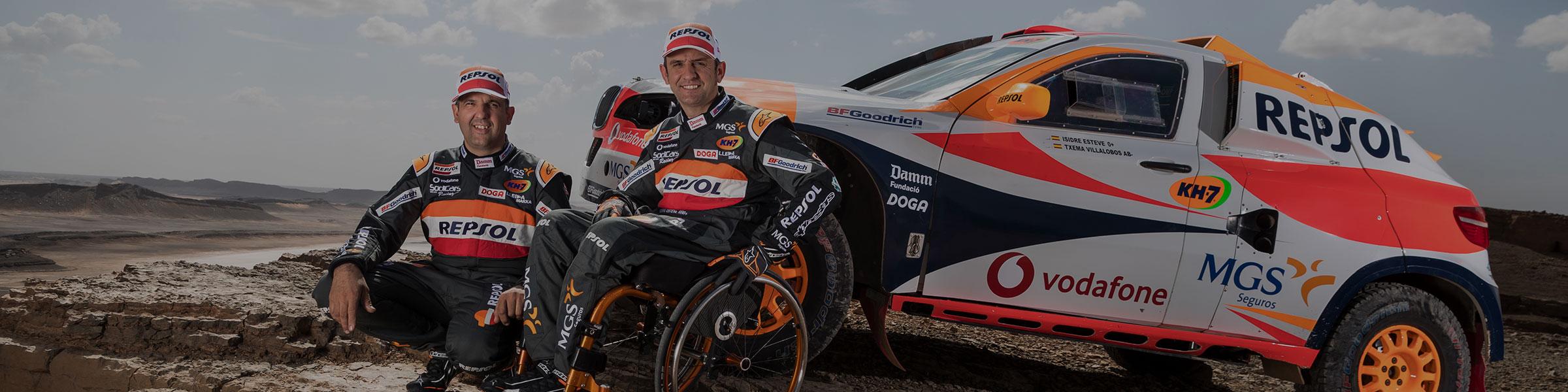 Spanischer Rennfahrer