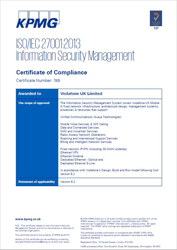 Vodafone-Group-Services-ISO270012013-Certificate